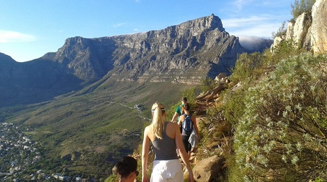 Lion's Head, Table Mountain, Hiking